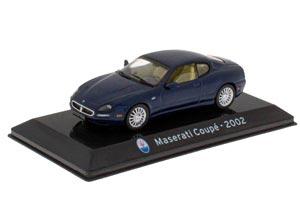 MASERATI COUPÉ 2002 BLUE (SUPERCARS SERIA)