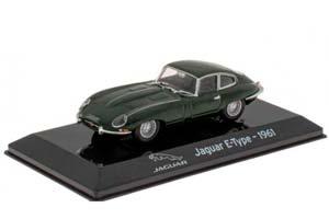 JAGUAR E-TYPE 1961 DARK GREEN