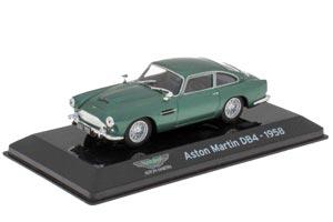 ASTON MARTIN DB4 1958 METALLIC GREEN (SUPERCARS SERIA)