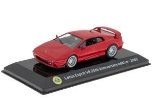 LOTUS ESPRIT V8 25TH ANNIVERSARY EDITION 2002 RED (SUPERCARS SERIA)