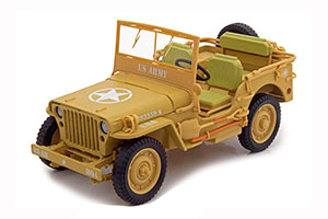 JEEP WILLYS 1943 CASABLANCA YELLOW