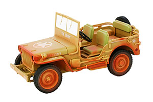JEEP WILLYS 1943 CASABLANCA SAND YELLOW