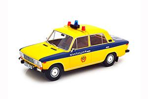 VAZ 2106 LADA 1600 (USSR RUSSIA) 1980 POLICE CAR YELLOW | ВАЗ-2106 ЖИГУЛИ ГАИ МИЛИЦИЯ СССР *ВАЗ ВОЛЖСКИЙ АВТОЗАВОД