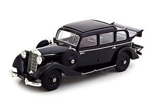 MERCEDES W138 260D PULLMAN WITH OPEN ROOF 1936 BLACK