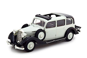 MERCEDES W138 260D PULLMAN WITH OPEB ROOF 1936 GREY/BLACK