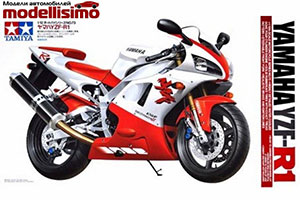MODEL KIT 1/12 YAMAHA YZF R-1 | 1/12 YAMAHA YZF R-1 *СБОРНАЯ МОДЕЛЬ
