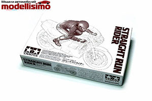 MODEL KIT 1/12 STRAIGHT RUN RIDER | 1/12 STRAIGHT RUN RIDER *СБОРНАЯ МОДЕЛЬ
