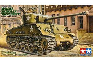 AMERICAN MEDIUM TANK M4A3E8 SHERMAN