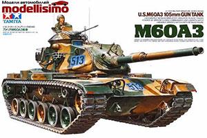 MODEL KIT AMERICAN PANZER M60A3 WITH ONE FIGURE   АМЕРИКАНСКИЙ ТАНК M60A3 С ОДНОЙ ФИГУРОЙ *СБОРНАЯ МОДЕЛЬ