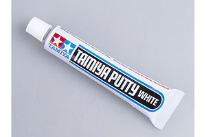 CAULKING WHITE (BASIC TYPE) (TIME STOOD STILL 1MM-1H) 32GR TUBE (PUTTY) | ШПАКЛЕВКА БЕЛАЯ (BASIC TYPE) (ВРЕМЯ ЗАСТ 1ММ-1Ч) 32ГР ТЮБИК (PUTTY) *СБОРНАЯ МОДЕЛЬ