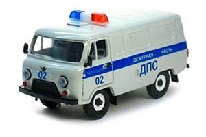 UAZ 3741 ROAD POLICE CAR (USSR RUSSIAN) 1985 | УАЗ 3741 ДПС *УАЗ УЛЬЯНОВСКИЙ АВТОЗАВОД