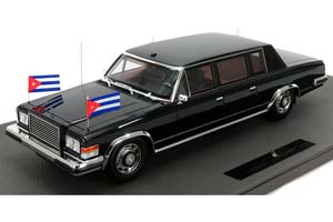ZIL 4104 LIMOUSINE FIDEL CASTRO 1985 BLACK LIMITED EDITION 100 PCS | ЗИЛ 4104 ФИДЕЛЬ КАСТРО (КУБА)