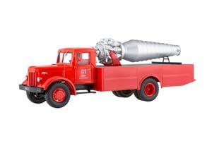 MAZ 200 FIRE CAR AGVT-200 (USSR RUSSIAN) | МАЗ 200 ПОЖАРНЫЙ АВТОМОБИЛЬ АГВТ-200 НАШИ ГРУЗОВИКИ #9 *МАЗ