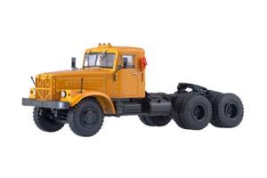 KRAZ-258B1 TRUCKER TRUCK (USSR RUSSIAN CAR) | КРАЗ-258Б1 СЕДЕЛЬНЫЙ ТЯГАЧ *КРАЗ КРЕМЕНЧУГСКИЙ АВТОЗАВОД
