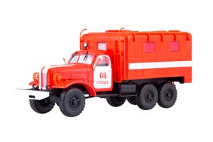 ZIL 157K AR-2 FIRE (USSR RUSSIAN) | ЗИЛ 157К АР-2 ПОЖАРНЫЙ *ЗИЛ ЗАВОД ИМЕНИ ЛИХАЧЕВА