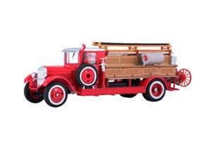 ZIS 11 PMZ-1 FIRE ENGINE (USSR RUSSIAN) 1934 RED | ЗИС-11 ПМЗ-1 ПОЖАРНЫЙ *ЗИС