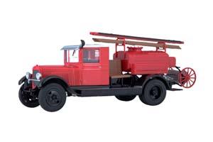 ZIS 5 PMZ-2 FIRE ENGINE (USSR RUSSIAN) 1933 RED | ЗИС-5 ПМЗ-2 ПОЖАРНЫЙ *ЗИС
