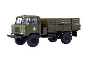 GAZ 66 4x4 (USSR RUSSIAN CAR)   ГАЗ-66 4x4