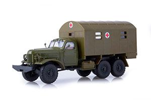 ZIL 157 KUNG 1M (USSR RUSSIAN) DARK GREEN | ЗИЛ-157 КУНГ-1М *ЗИЛ ЗАВОД ИМЕНИ ЛИХАЧЕВА