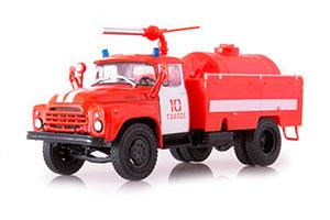 ZIL 130 AP-3 FIRE ENGNE (USSR RUSSIAN) RED | ЗИЛ 130 АП-3 *ЗИЛ ЗАВОД ИМЕНИ ЛИХАЧЕВА
