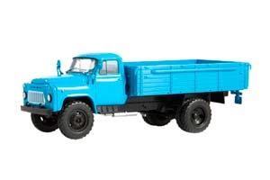 GAZ 53-12 (USSR RUSSIAN CAR) BLUE | ГАЗ 53-12