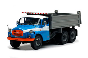 TATRA 148S3 6X6 DUMP TRUCK 1970 BLUE/GREY