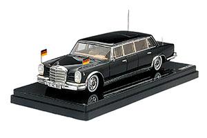 MERCEDES W100 600 PULLMAN GERMAN STATE LIMOUSINE 1963 BLACK