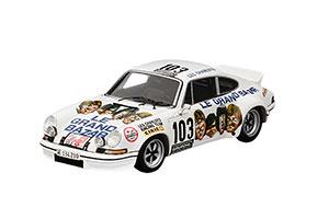 PORSCHE 911 RS 2.7 #103 LES CHARLOTS LE GRAND BAZAR TOUR DE FRANCE 1973