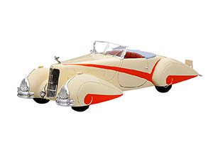 CADILLAC V16 HARTMANN ROADSTER 1934 CREAM