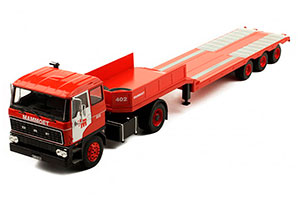 DAF 2800 MAMMOET (NL) 1978 RED *ДАФ