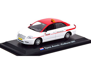 TOYOTA AVENSIS TAXI EINDHOVEN 2003 WHITE/RED *ТОЙОТА ТАЙОТА