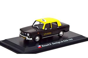 RENAULT 8 TAXI SANTIAGO DE CHILE 1965 BLACK/YELLOW *РЕНО