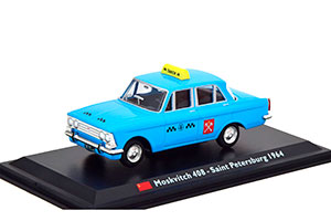 MOSKVICH 408 1964 TAXI MOSCOW