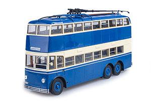 YATB 3 TROLLEY 1939 BLUE/BEIGE