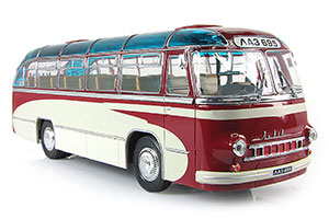 LAZ-695 SUBURBAN EXPERIENCED 1956-2010 RED/BEIGE