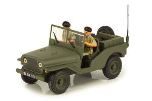 DELAHAYE VLRD 1949 MILITARY SUV WITH 2 FIGURES *ДЕЛАХАЙ ДЭЛАХАЙЕ