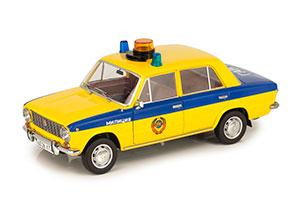 VAZ 2101 LADA USSR ROAD POLICE (RUSSIAN) 1982 YELLOW LIMITED EDITION 504 PCS | ВАЗ-2101 ЖИГУЛИ ГАИ МИЛИЦИЯ 1982 ЖЕЛТЫЙ С СИНИМ (ИЗ К/Ф
