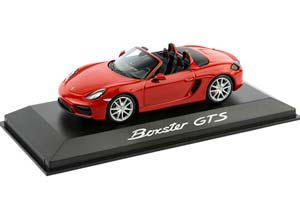 PORSCHE BOXSTER (981) GTS 2014 RED