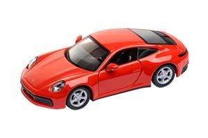 PORSCHE 911 CARRERA 4S PULL-BACK 2020 LAVA ORANGE