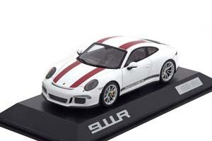 PORSCHE 991R WHITE WITH RED STRIPES