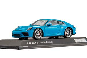 PORSCHE 911 GT3 TOURING PACKAGE MIAMI BLUE