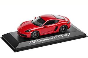 PORSCHE 718 CAYMAN GTS 4.0 2020 RED