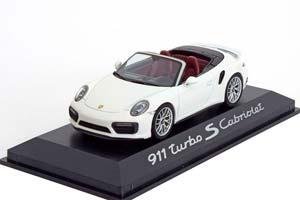 PORSCHE 911 (991/II) TURBO S CONVERTIBLE 2016 WHITE