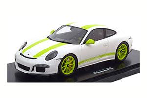 PORSCHE 911 R 2016 WHITE/GREEN