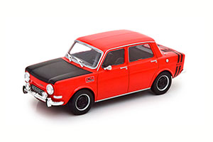 SIMCA 1000 RALLYE 2 1970 RED