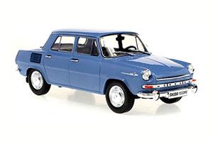 SKODA 1000 MB 1969 BLUE
