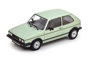 VW VOLKSWAGEN GOLF I GTI 1983 METALLIC LIGHT GREEN
