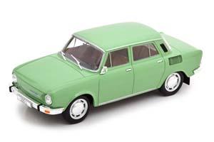 SKODA 100 L 1974 GREEN