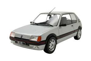 PEUGEOT 205 1.9 GTI 1988 SILVER