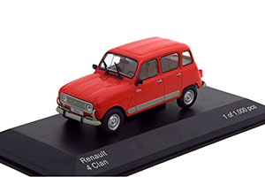 RENAULT 4 CLAN 1978 RED